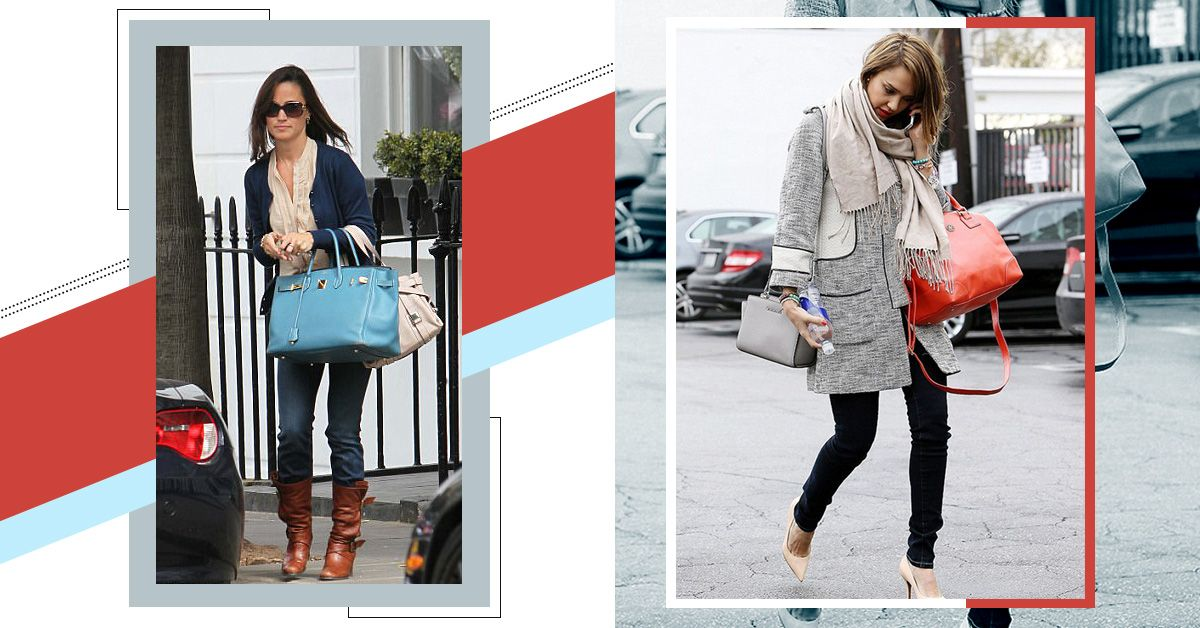 Use This Genius Styling Trick When You Need To Carry A Lot Of Things But Don't Like Big Bags!