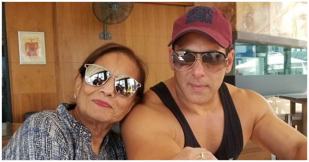 Salman Khan's Pyaar Ka Bandhan With His Mom Will Make You Go Aww!
