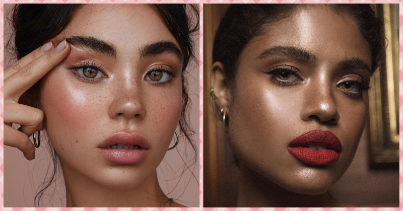 Like Matte And Dewy Looking Skin? This New Makeup Trend Is Just For You