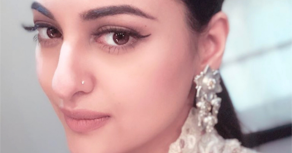 A Definitive Guide To Getting Your Falsies To Look Just Right Feat. Sonakshi Sinha