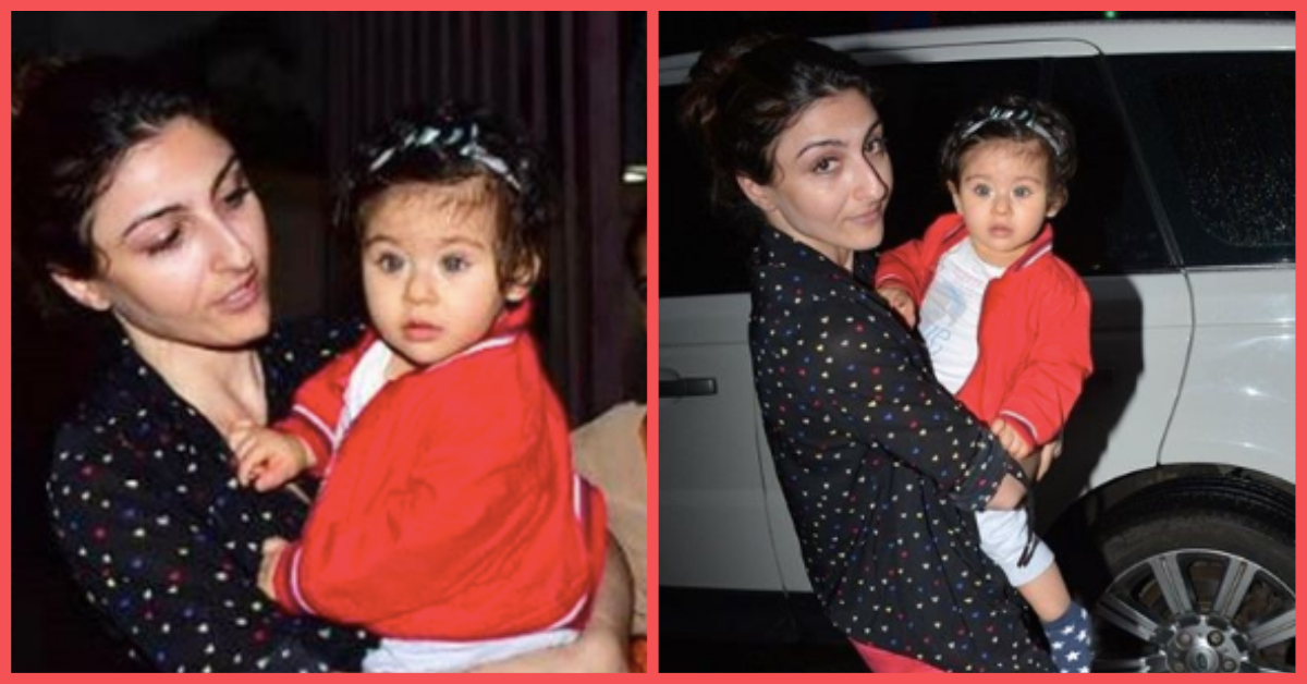 Soha Ali Khan Is Angry At Photographers For Using Flashlight On Daughter Inaaya