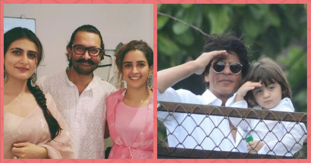 Eid Mubarak: Shah Rukh, Aamir, Salman & Other Bollywood Celebrities Wish Their Fans