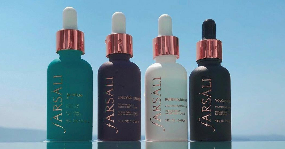 Farsali's Launching A New Hybrid Serum That's Going To Make You Put Down Beauty Plus For Good!