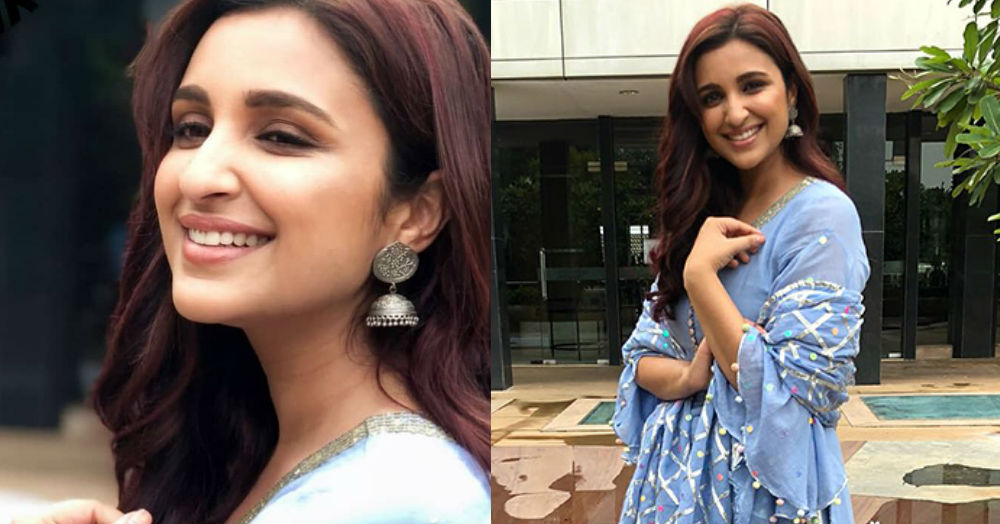 *Sharara Sharara*: Parineeti Chopra's Blue Suit Is The Ultimate Bridesmaid Outfit & You Can Get It Too!