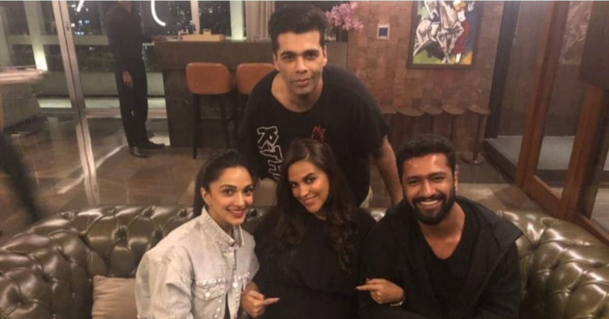 Like A True BFF, Karan Johar Threw Neha Dhupia A Stylish Birthday Bash!