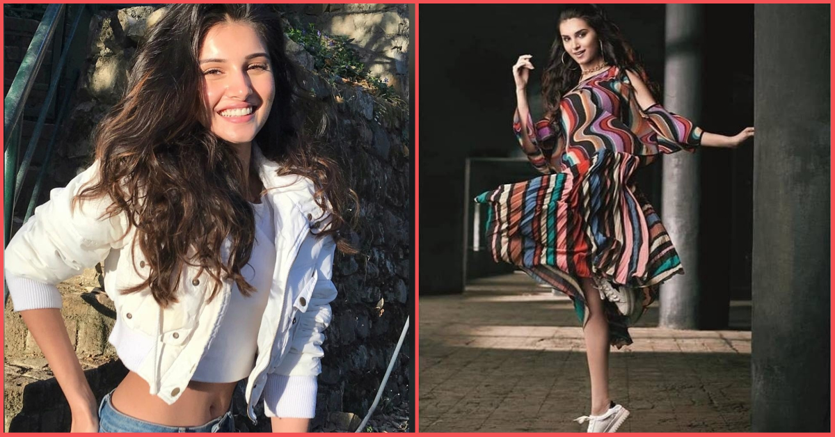 SOTY 2 Actress Tara Sutaria Is *Dancing Her Heart Out* In Ritu Kumar's New Campaign!