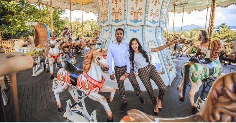 6 Pre-Wedding Shoot Ideas That Are Crazy, Fun And Definitely Not Cheesy!