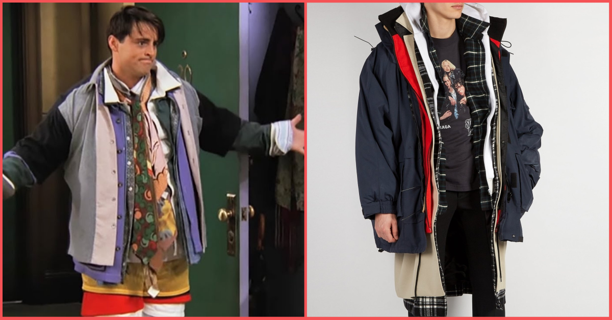 Could I BE Wearing Any More Clothes? Balenciaga Is Selling Joey's Epic Coat For Rs 4.7L!