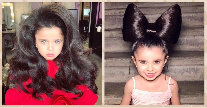 This 5-Year-Old Girl Just Broke The Internet With Her BIG Hair!