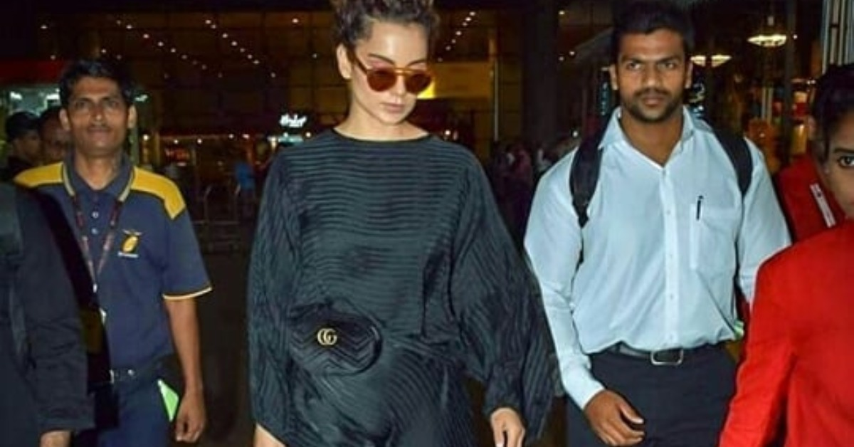 Can't Keep Away From Wearing All-Black? Let Kangana Show You How To Make It Work!
