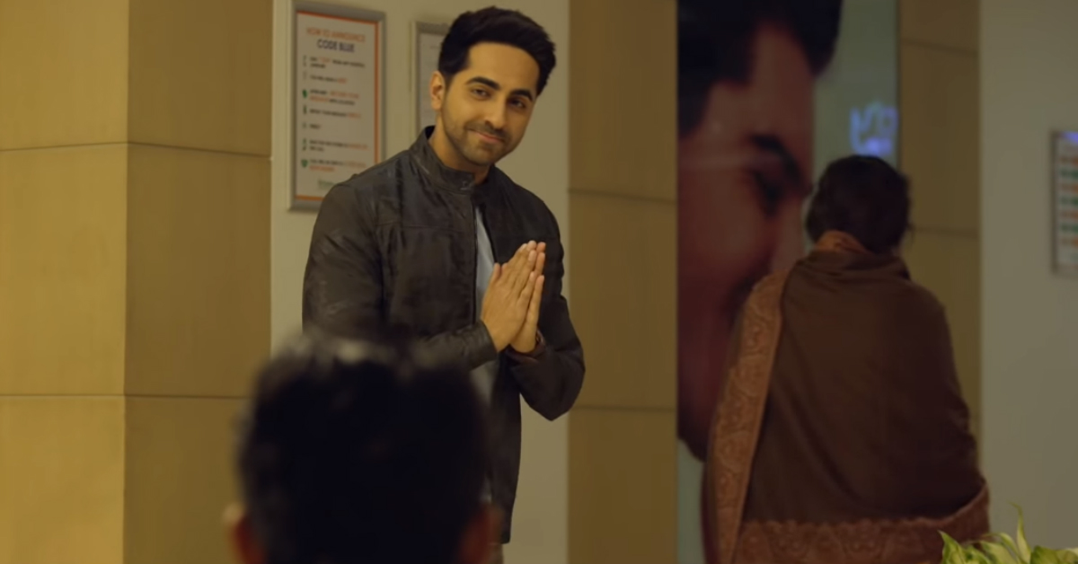 LOL! Ayushmann Khurrana Can't Deal With His Mother's Unexpected Pregnancy In 'Badhaai Ho'