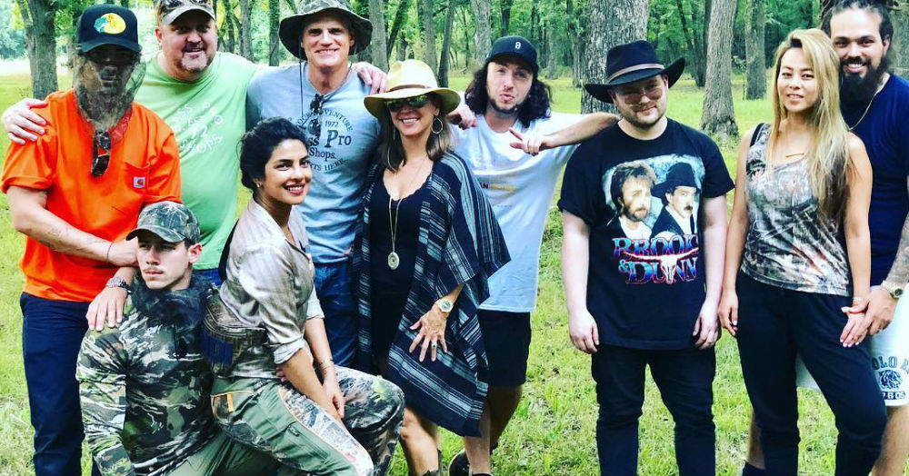 Priyanka and Nick Are On A Vacation Again & As Always, They Are All About The Mush!