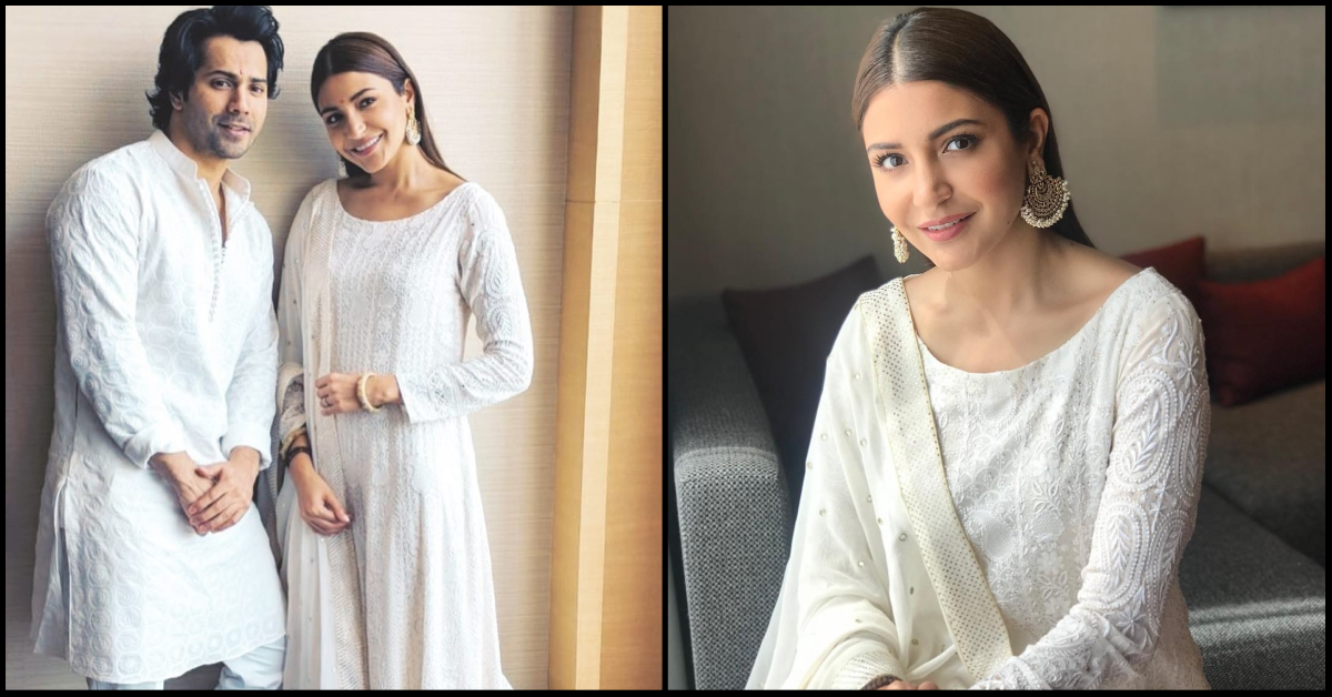 Anushka Sharma Wearing A Lucknawi Suit In Lucknow Is Every Tourist Ever!