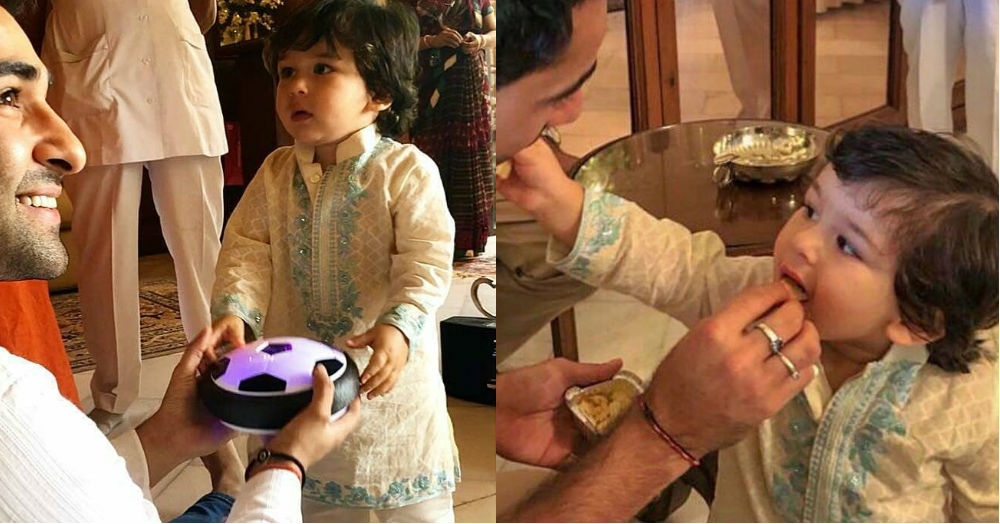 Taimur's Day Out In A Kurta-Pyjama Is The Highlight Of Our Week... Can You Blame Us?