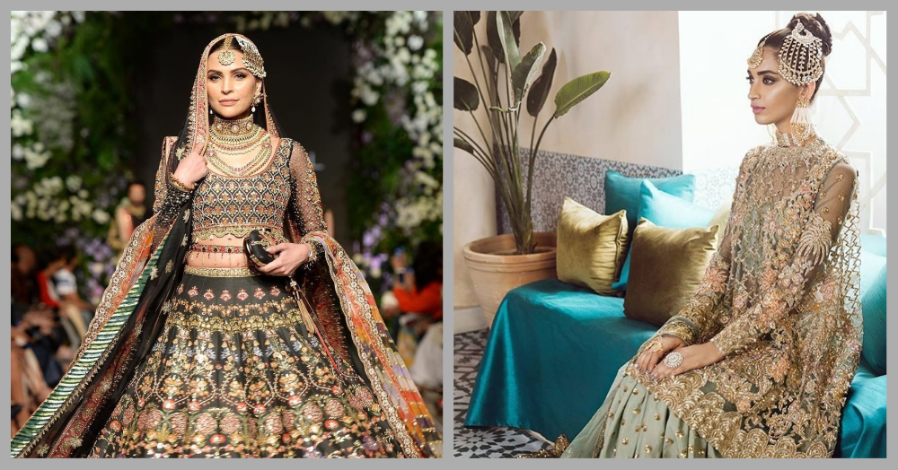 6 Pakistani Bridal Designers That'll Make You Want To Go Shopping, Border Ke Uss Paar