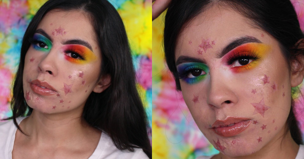This Makeup Artist Embracing Acne With Colourful Makeup Has Got Us Crying With Joy!