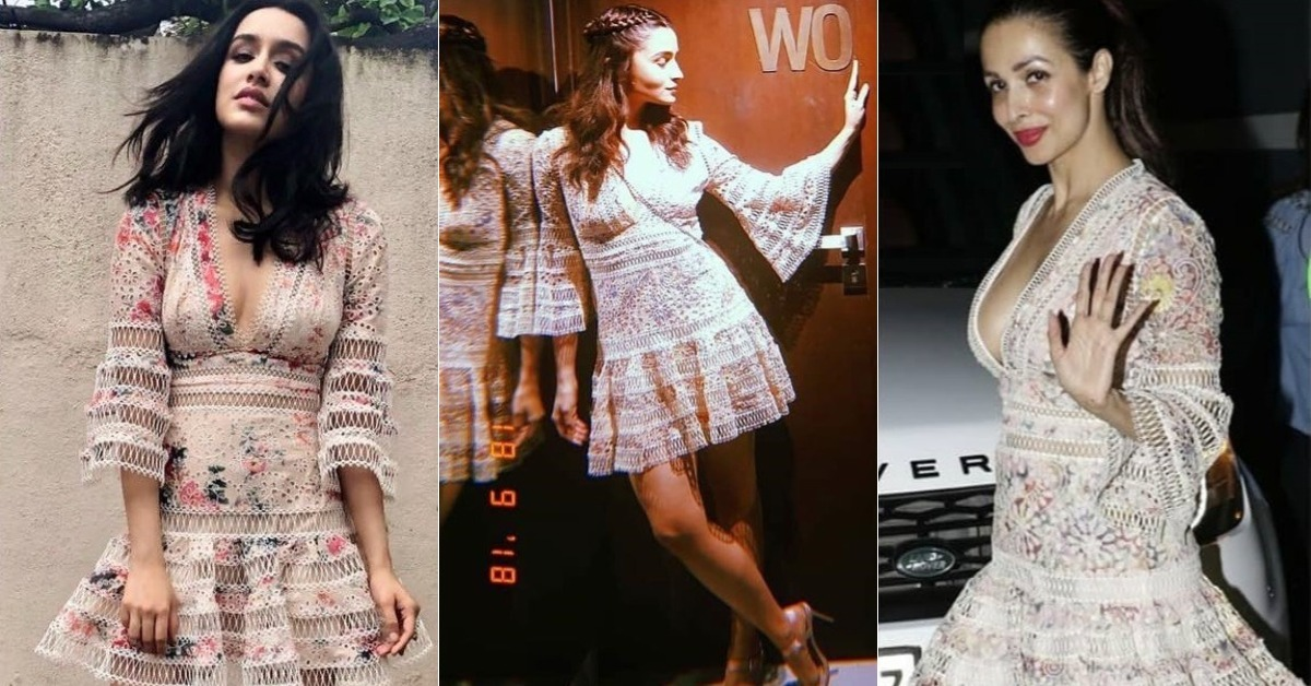 A Floral Lace Dress Is The Latest B-Town Fave & Here's Where You Can Get It!