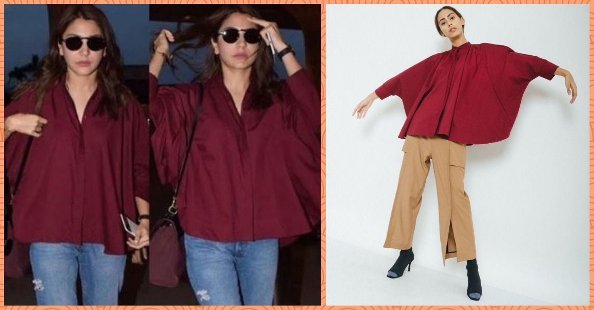 Anushka Sharma's Batwing Shirt Is Currently On Sale And We Have All the Deets!