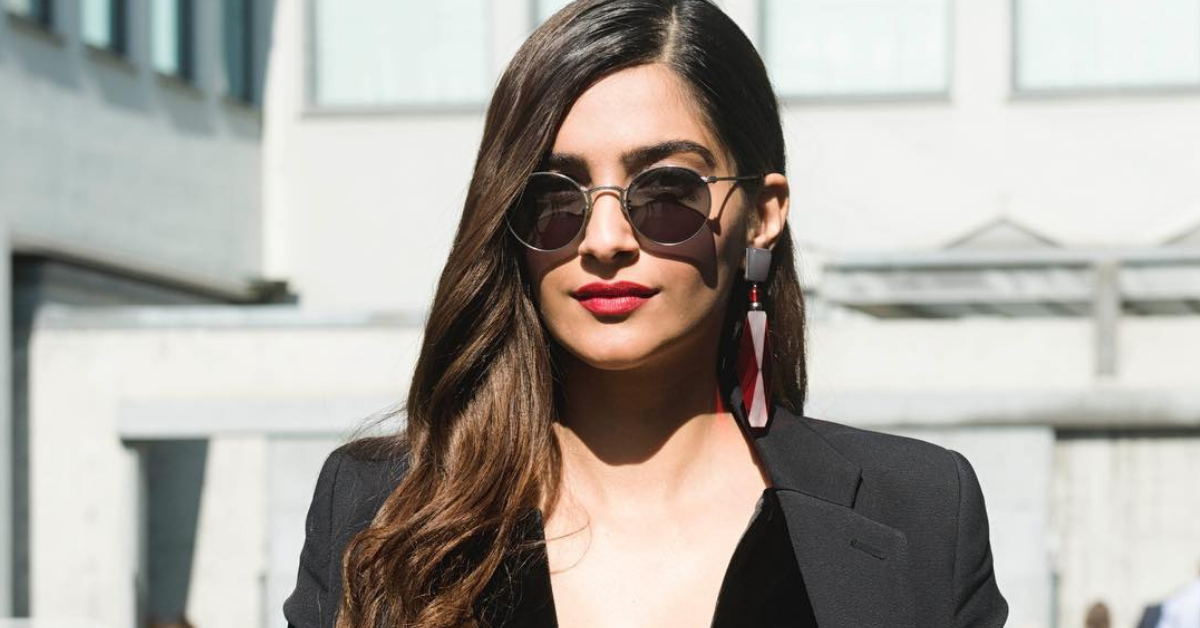 #WhatsThatLipColour: Decoding Sonam Kapoor's Rusty Red Lipstick!