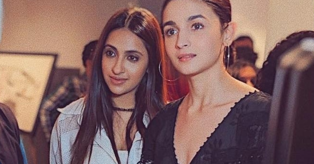 Alia Bhatt Pulled A Classic Black & White With Her BFF And We Certainly Approve!