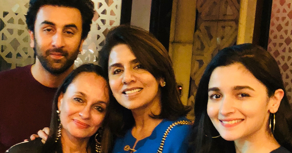 Mom Neetu Wishes Ranbir A Happy Birthday With An Insta Post That Has Alia and Her Mom!