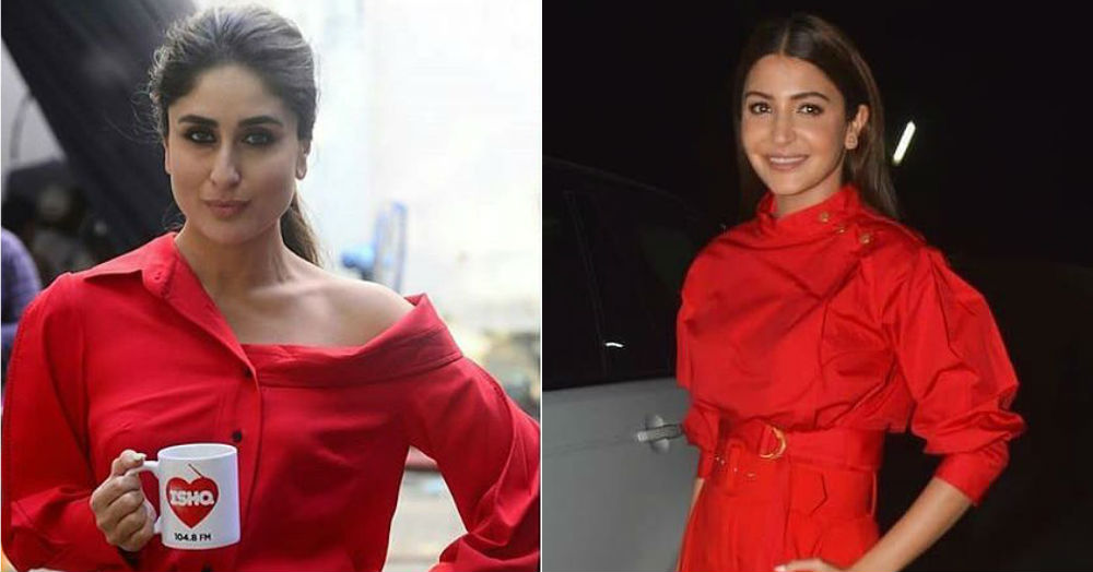 Anushka Or Kareena: Who Looked Hotter In Chilli Red?