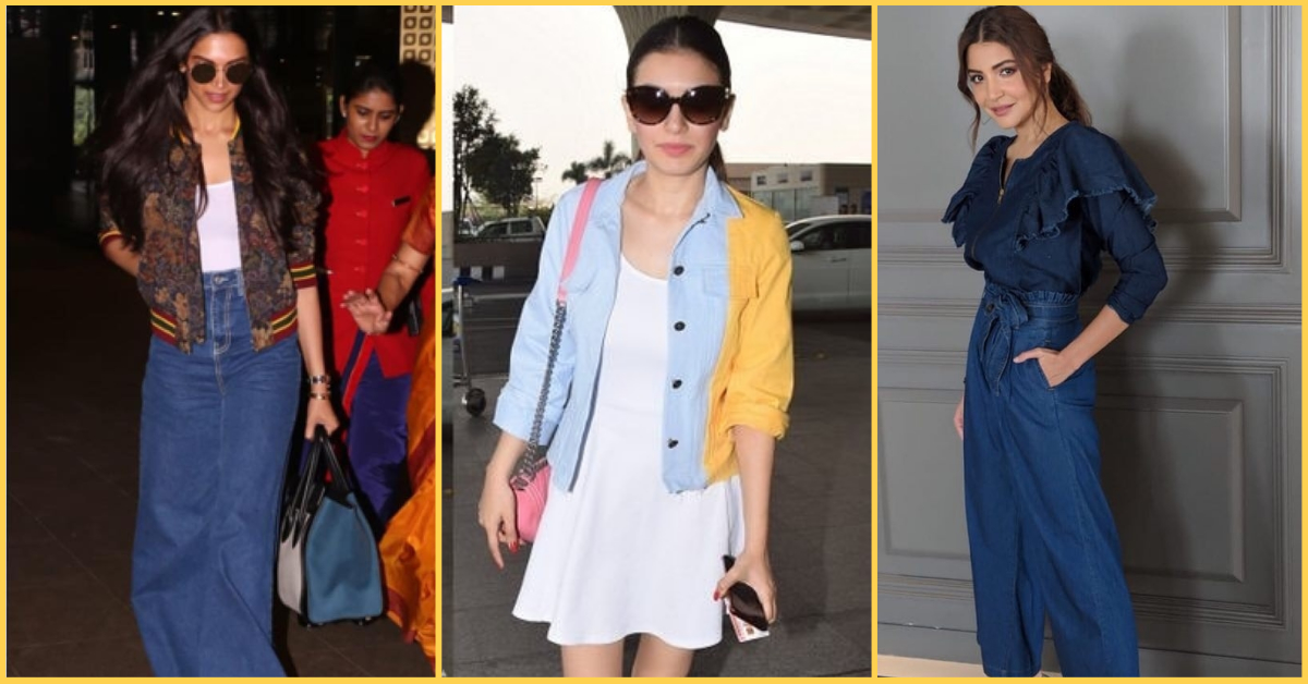 5 Denim(ite) October Outfits For The In-Between Weather, Courtesy Bollywood