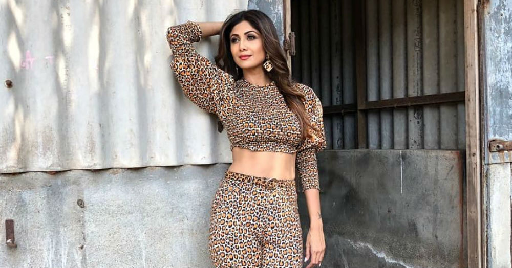 Is Shilpa Shetty Prepping For A *Cat* Fight In Head To Toe Leopard Print?