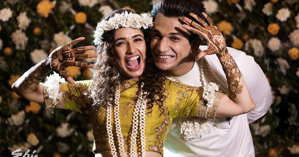 Yuvika's Prince Has Arrived And Here Are All The Pictures From Their Mehendi & Engagement!