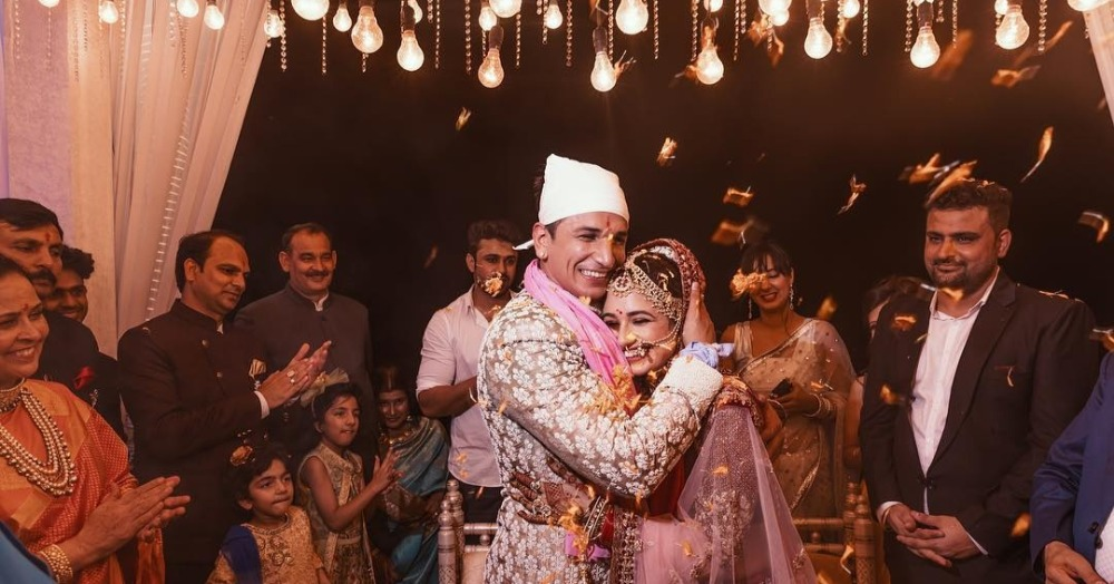 The Video Of Prince & Yuvika Dancing To Dil Diyan Gallan At Their Wedding Is Aww-dorable!