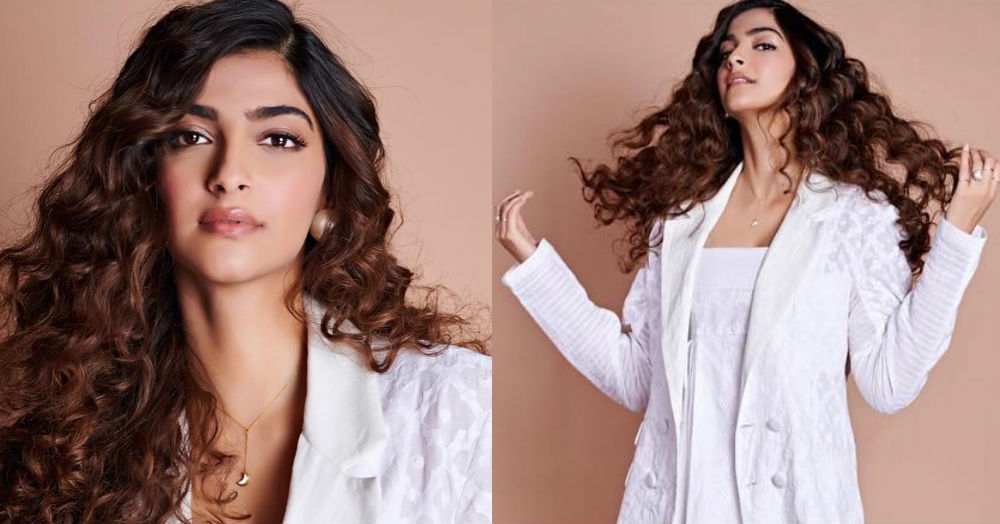 Sonam Kapoor Brings Back The Dress Suit With An All White Look