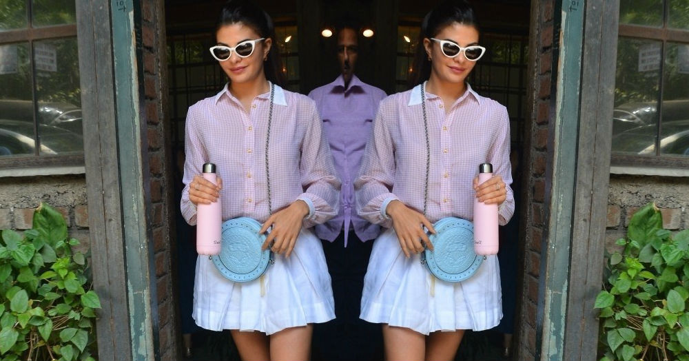 Jacqueline's Schoolgirl Look Will Make You Want To Copy Paste(l) It Into Your Closet