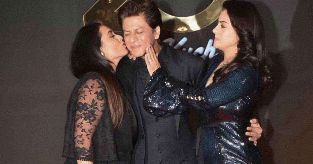 All The Bollywood *Black* Magic That Happened At The #20YearsOfKuchKuchHotaHai Party
