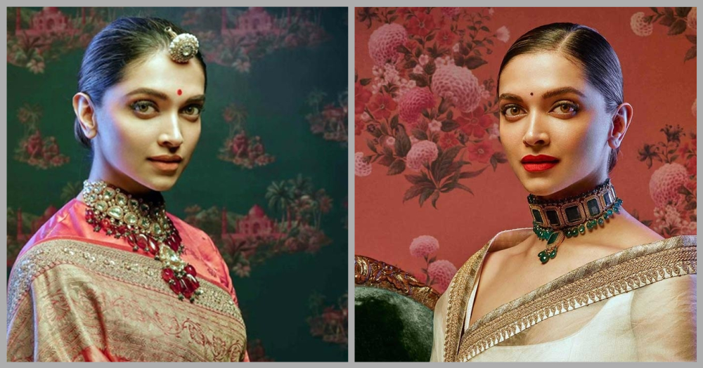 7 Times Deepika Padukone Looked Gorgeous In A Sabyasachi ...