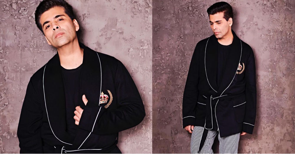 We're Suddenly Craving *Koffee With Karan* And His Snuggly Jacket Is The Reason