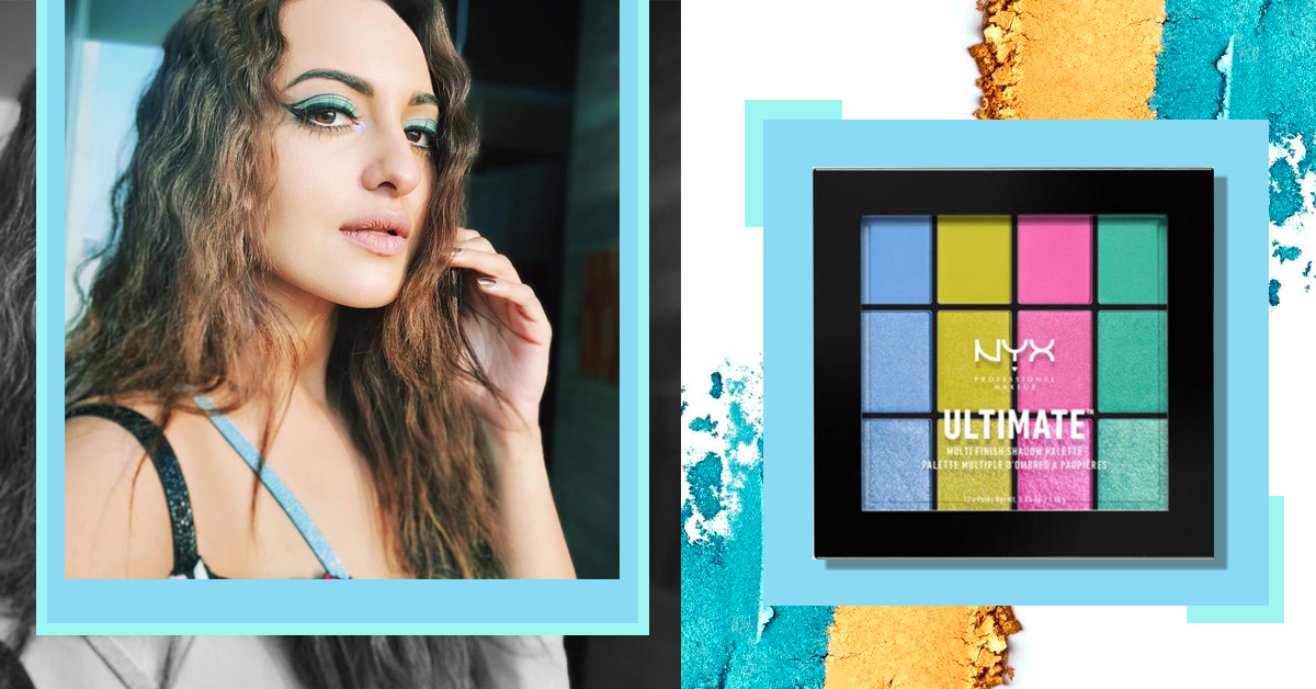 Sonakshi Sinha's Blue Eyeshadow & Graphic Eyeliner Had Me At Hello!