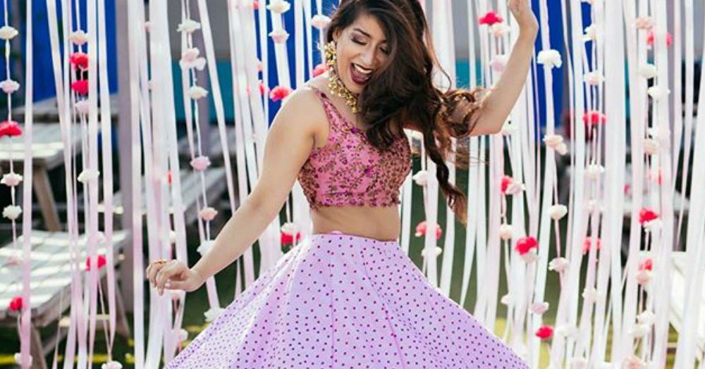 Here's A Gorgeous Lotus-Inspired Lehenga For Your Bestie's Wedding!
