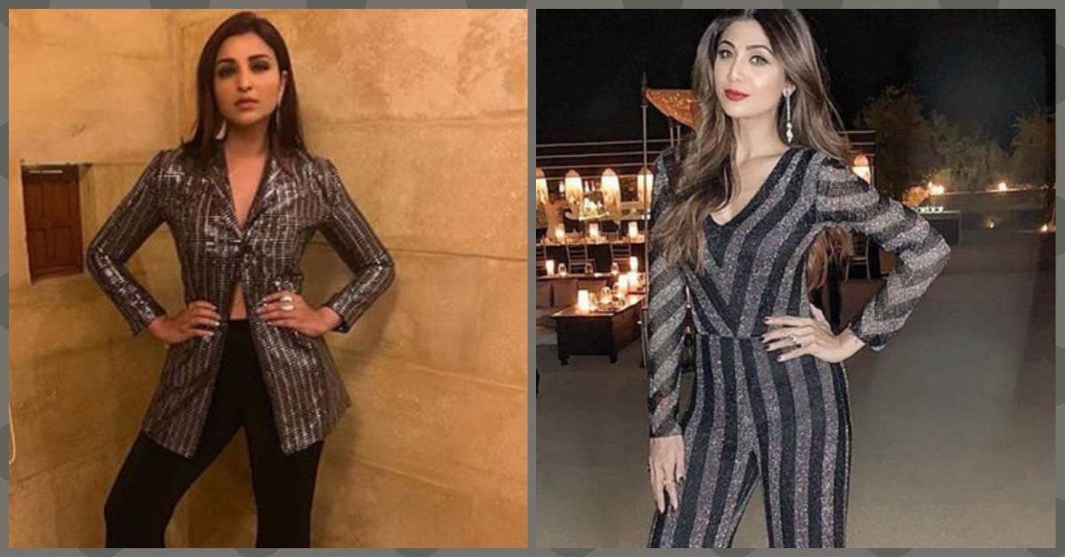 Parineeti Chopra & Shilpa Shetty Were All About The Bling At A Wedding This Weekend!