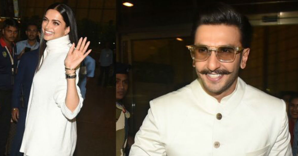 These Pictures Of DeepVeer Leaving For Their Lake Como Wedding Will Make Your Heart Flutter