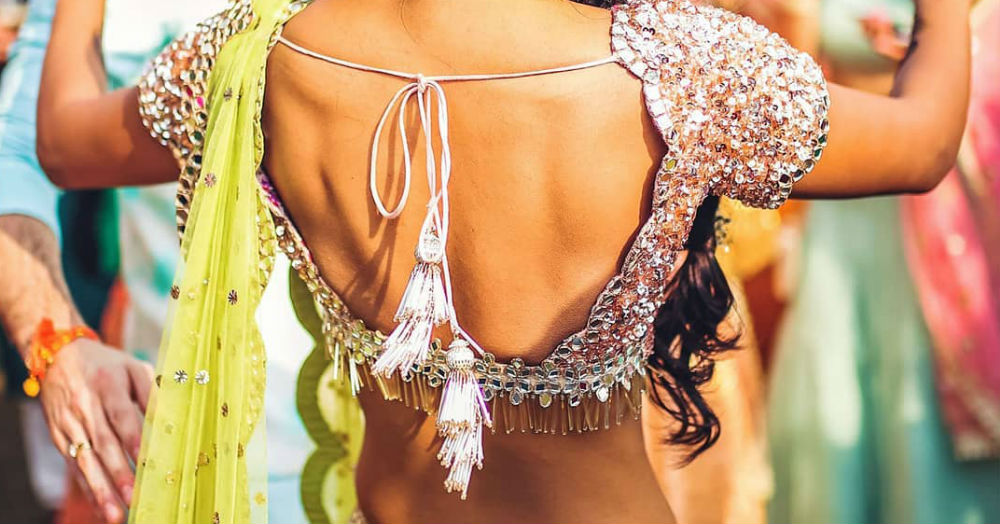 Bring Sexy 'Back' With Fun And Extraordinary Saree Blouse Back Designs!