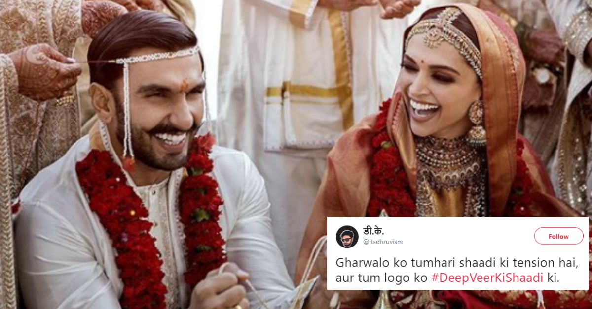 Twitter Is Celebrating The #DeepVeer Wedding With The Most Hilarious Memes!