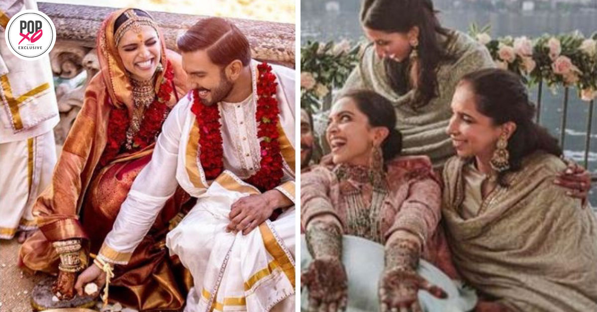 EXCLUSIVE PICS: Deepika's Konkani Wedding Saree Wasn't Sabyasachi, It Was A Gift From Mom!