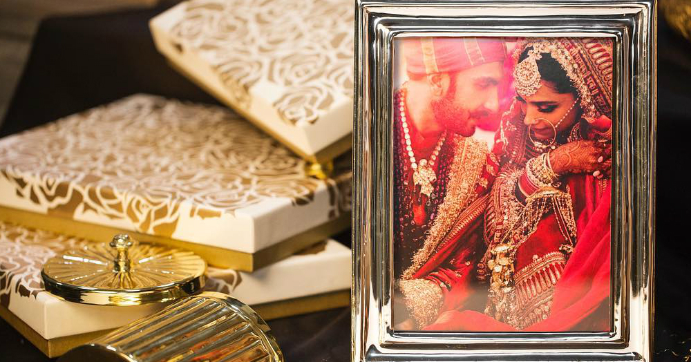 Deepika & Ranveer's Thank You Gifts Make Us Wish We Were A Part Of The Shaadi Brigade Too!