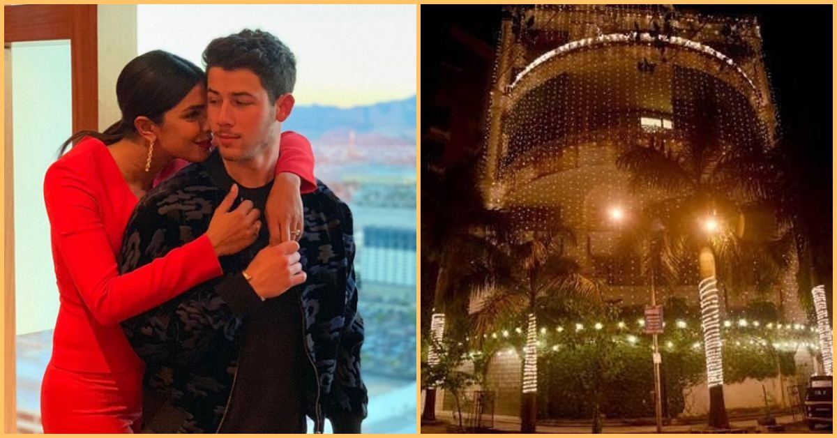 Priyanka Chopra's Mumbai Home Is Lit Up Like The Ultimate *Shaadi Wala Ghar*!