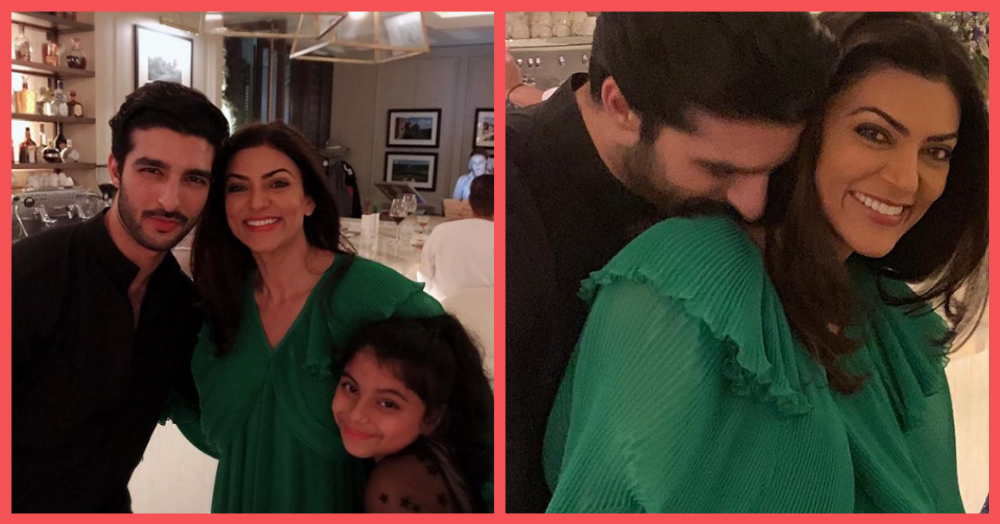 Sushmita Sen Has Wrapped Herself In (Rohman) Shawl & My Single Side Is Jealous!