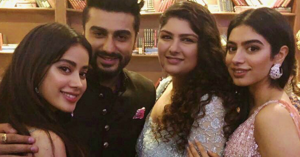 Arjun Kapoor & Janhvi Kapoor Defend Sister Anshula After She Receives Threats On Twitter