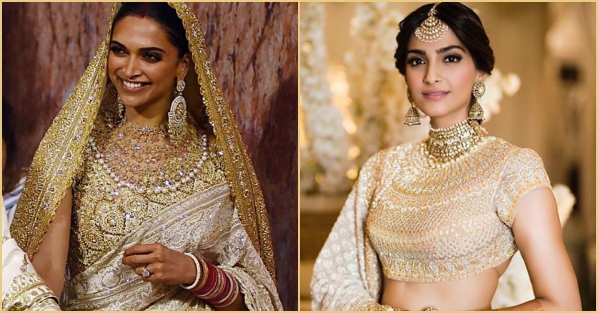 Sonam And Deepika Prove That *Gold Goddesses* Come In Different Forms!
