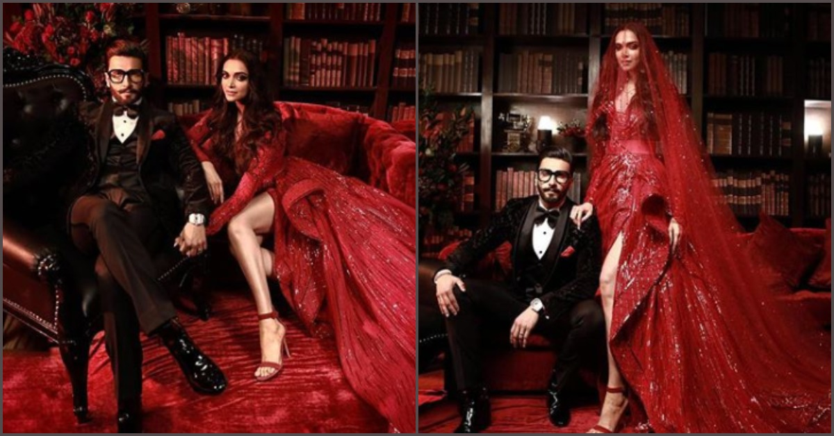 Ooh La La, Deepika & Ranveer Are Killin' It At Their B-Town Reception!