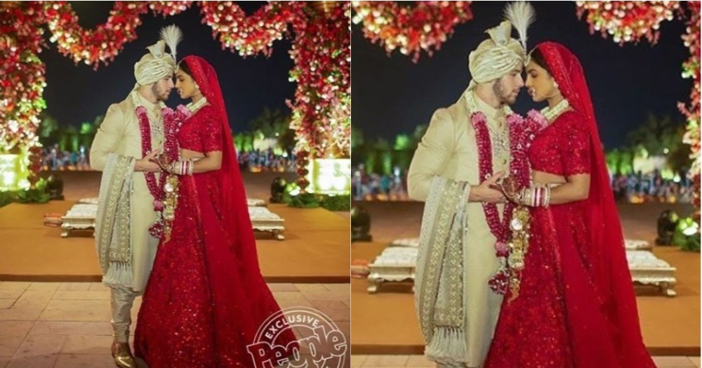 Roses Are Red, Violets Are Blue, PeeCee's A Sabya Bride & We Wish We Were Too!