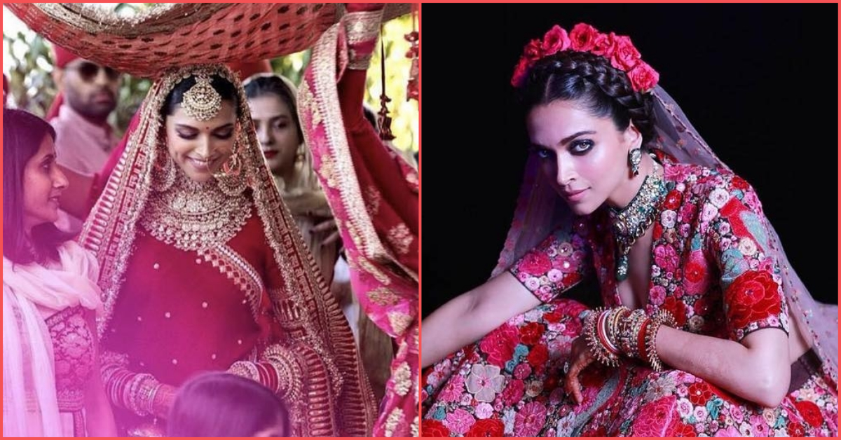 #WorldsMostBeautifulBride: Deepika's 7 Bridal Looks Were The 7 Wonders Of The Wedding World!